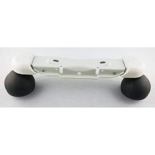 DeLonghi - Soporte para patas de ruedas para radiador de aceite Radia S TRRS TRRS0715 TRRS1225