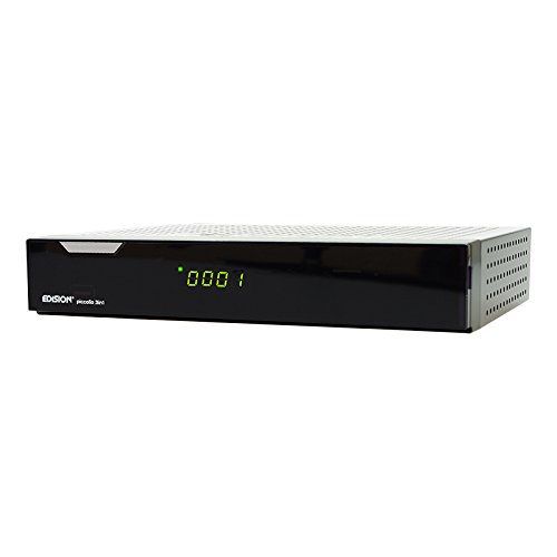 Edision argus piccollo 3in1 plus CI HD Triple Receiver(DVB-S2, DVB-C, DVB-T) schwarz