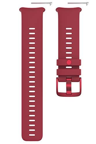 Polar Vantage V2, Cinturino Intercambiabile per Orologio Sportivo Unisex Adulto, Rosso, S-L