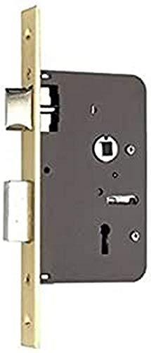 Yale 65260HL. Cerradura De Embutir Estándar Para Puertas Latonado Entrada 35 mm 652