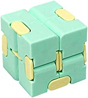 Infinity Cube,Infinity Cube Fidget Toy,Fidgeting Game Fidget Toy Mini Fidget Finger Toy,Best for Stress and Anxiety...
