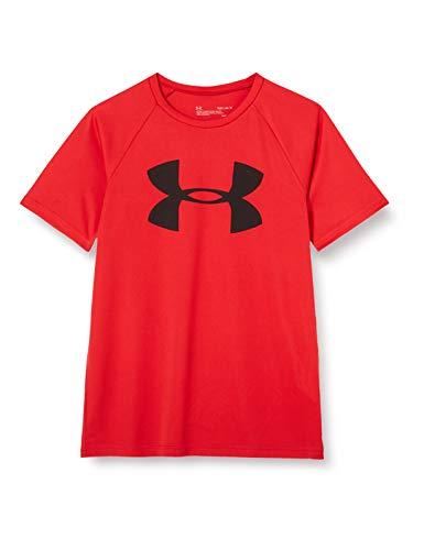 Under Armour Tech Big Logo Camisa Manga Corta, Niños, Rojo, YMD