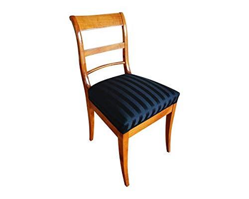 Retroles Biedermeier Stuhl aus massiven Kirschholz K1 (Kirschholz)
