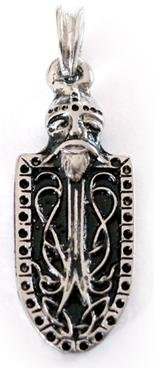 Vikingo Cartel Cadena Colgante, Plata de ley 925colgante, vikingo Cadena, vikingo joyas