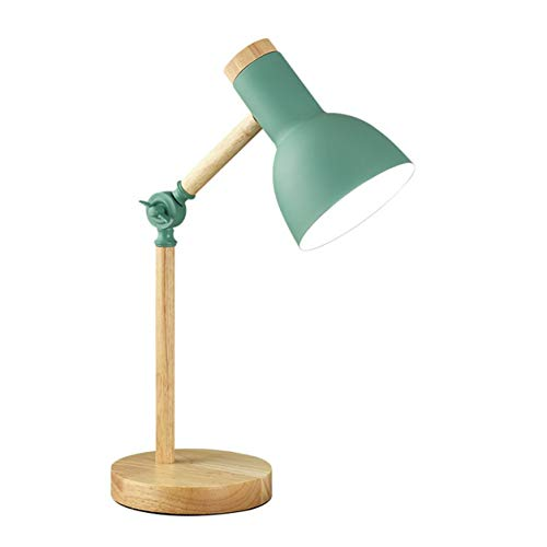 YXDS Lámpara de Escritorio LED de Madera Lámpara de Escritorio Simple Plegable Protección Ocular Lámpara de Mesa de Lectura Sala de Estar Hogar