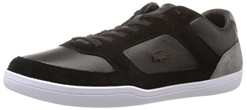 Lacoste Men's Court-Minimal 316 1 Cam Fashion Sneaker, Black, 8.5 M US
