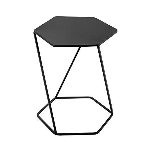 Jcnfa-bijzettafel Hexagon Side End Table, Cocktailtafel, Bewegende Bijzettafel, Woonkamer Slaapkamer Meubels, Moderne Eindtafel