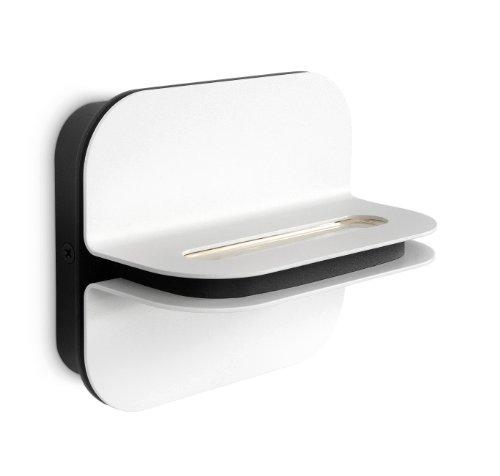 Philips Ledino LED-wandlamp Patra 2 lampen 2 W, wit 332573116