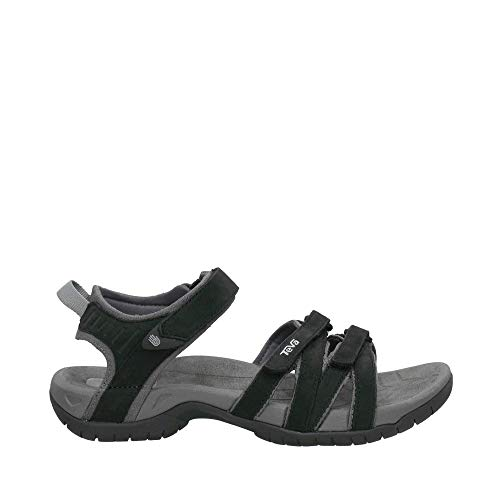 Teva Tirra leather zwart sandalen dames