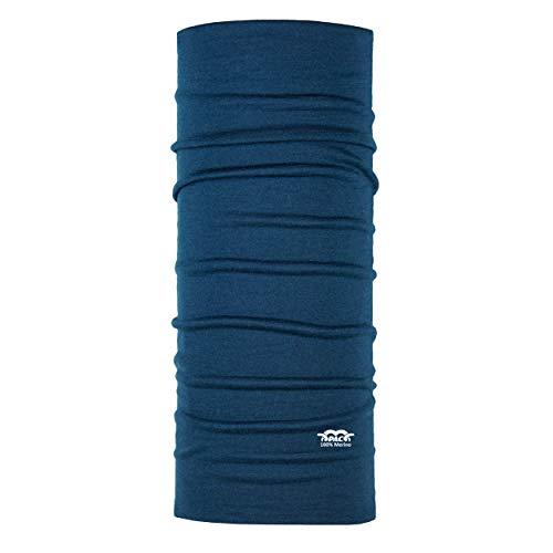 P.A.C. Merino Wolle Multifunktionstuch - Outdoortuch, nahtloses Halstuch, non-Mulesing Wolle, nachhaltiges Schlauchtuch, Schal, Kopftuch, Stirnband, verschiedenste Designs, Unisex, 10 Tragevarianten