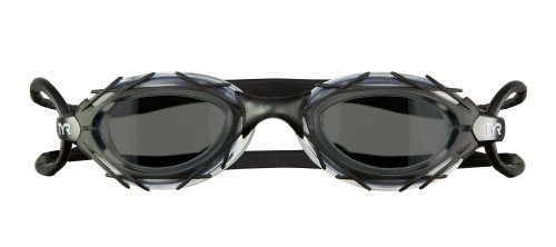 TYR LGNSTN 041 Kids Nest Pro Nano Goggles (Black/smoke, One Size)