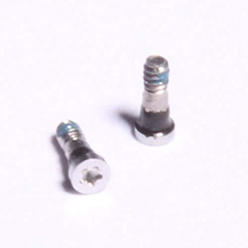 SINTECH© Premium Pentalobe Schrauben passend für iPhone 6/6+ Backcover weiß, Set mit 2 Stück