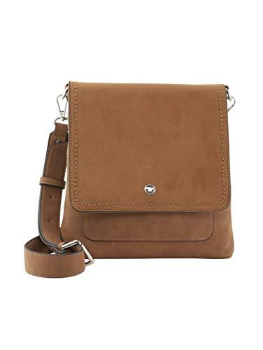 TOM TAILOR Damen Taschen & Geldbörsen Überschlagtasche Firenze Cognac/Brandy,OneSize