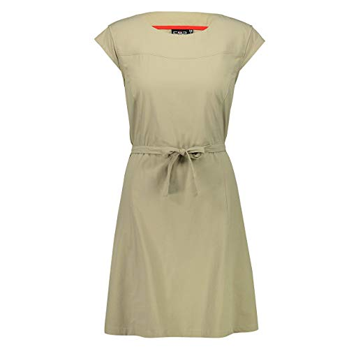 CMP Damen Vestito Stretch Con Tecnologia Dry Function Kleid, Sage, D36