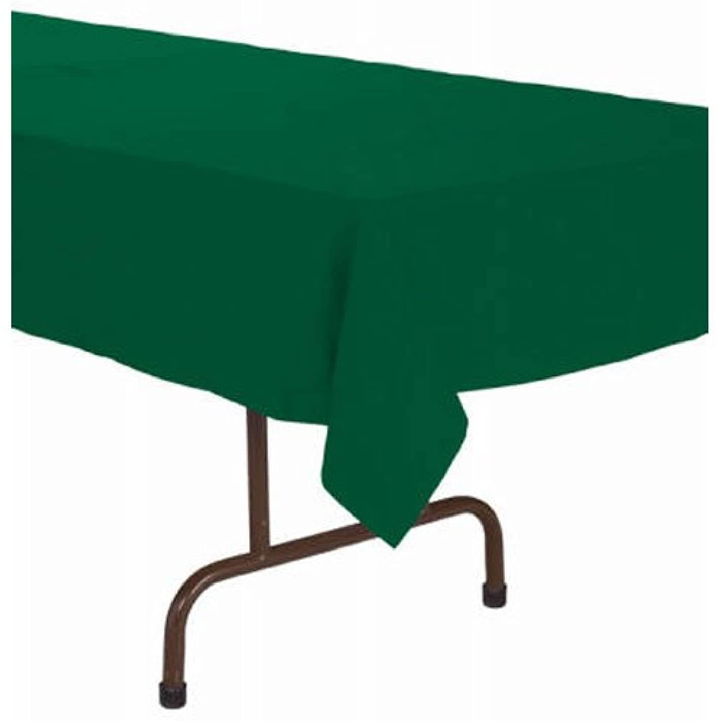 Creative Converting Paper Banquet Table Cover, Hunter Green - 713124
