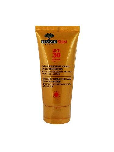 Nuxe sun - Crème Délicieuse Visage Haute Protection SPF 30 - 50ml