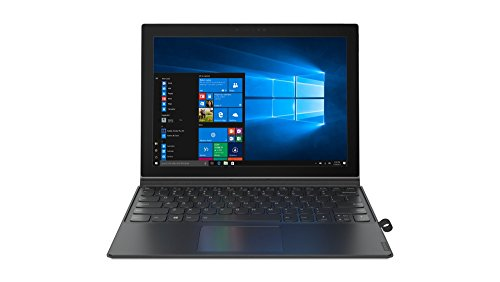 Lenovo Miix 630, 12-Inch Windows Laptop, 2 in 1 Laptop, (Qualcomm Snapdragon 835, 4 GB LPDDR4X, 128 GB UFS 2.1, Windows 10 S), 81F10001US,Iron Grey