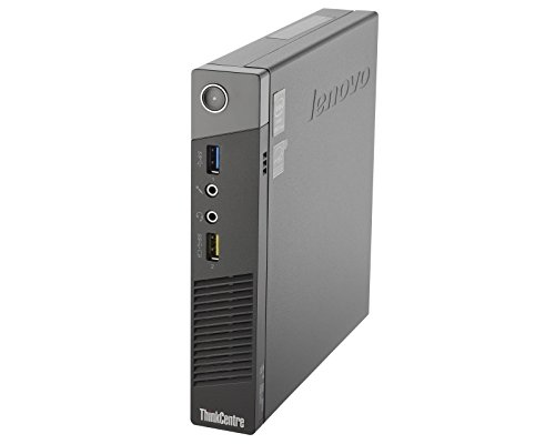 Lenovo ThinkCentre M93P Small Form Business High Performance Desktop Computer PC - Intel Core I5-4570 3.2Ghz - 8GB RAM - 500 GB HDD - DVD-RW - Windows 10 Professional (Renewed)