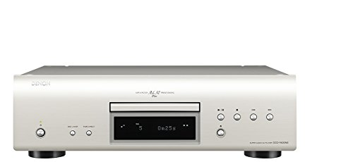 Denon DCD-1600NE Audio CD Player premium-silber