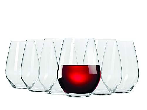 Maxwell & Williams 540ml Vino ohne Stiel rot Wein Glas, Set von 6