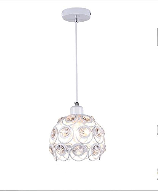 HEYUN& Moderne minimalistische Restaurant Kronleuchter Kristall-Kronleuchter kreative Persnlichkeit [Energieklasse A ++] (Farbe   A)