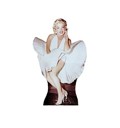 Cardboard People Marilyn Monroe Life Size Cardboard Cutout Standup - The Seven Year Itch (1955 Film)