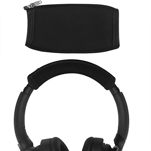 Geekria ヘッドバンドカバー 交換用 SONY WH1000XM4 WH1000XM3 WH1000XM2 XB950B1 XB950N1 Headphones ヘッドホンを傷から保護 ヘッドバンドクッション/ヘッドバンドプロテクター/簡単なインストール 工具不要 (ブラック)