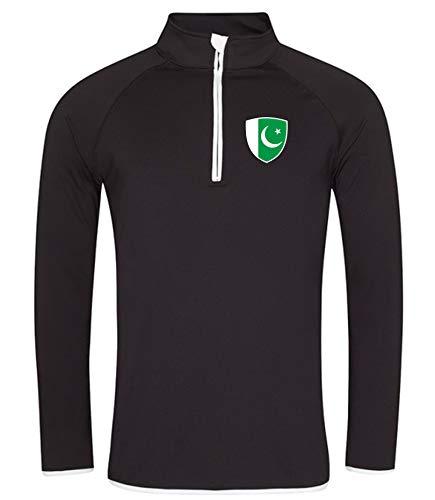 Nation Pakistan Sweatshirt Sport Atmungsaktiv UV-Schutz GO JC SC-W (M)