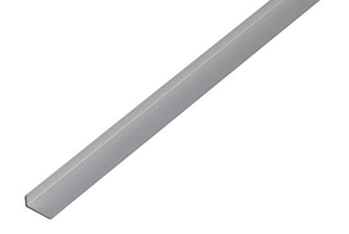 GAH-Alberts 475178 Kantenschutzprofil - Aluminium, silberfarbig eloxiert, 1000 x 14 x 10 mm