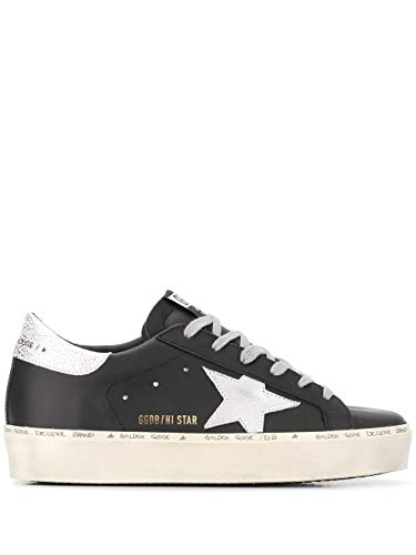 Golden Goose Luxury Fashion Donna GWF00118F00032890179 Nero Pelle Sneakers | Ss21
