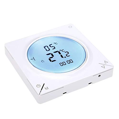 Termostato de calefacción, termostato controlador de temperatura de calefacción con sensor NTC de función manual, para hotel en casa