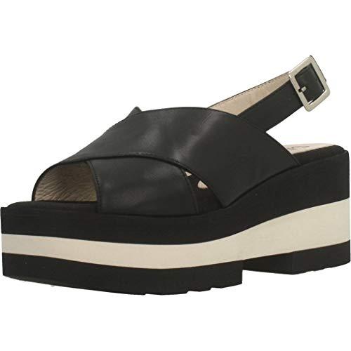 Gadea Damen Sandalen Sandaletten TUD1074 Schwarz 40 EU
