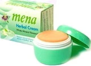 Mena Extra White Mineral Whitening Skin Brightening Cream 3g. Pack 2