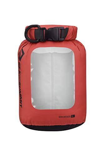 SEA TO SUMMIT View 70D Dry Sack, 35 Liter, Bergsteigen und Trekking, Erwachsene, Unisex, Rot (Red), Einheitsgröße