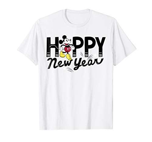 Disney Mickey Mouse Happy New Year T-Shirt