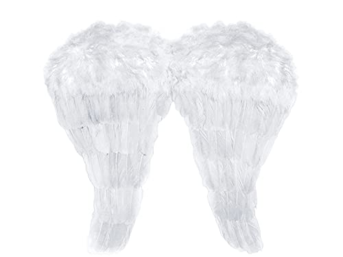 Ali D angelo piumate bianche bianco 52 x 45 centimetri