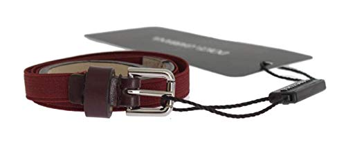 Dolce & Gabbana - Cintura in pelle Bordeaux