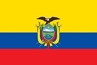 Gran Bandera de Ecuador 150 x 90 cm América del Sur Flag Durabol.