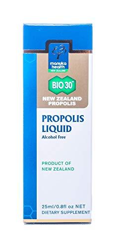 Manuka Health Propolis Liquid Bio 30 Tinktur - 25ml - Propolis Tropfen ohne Alkohol