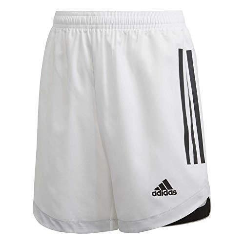 adidas Jungen Kurze Hosen CONDIVO20 SHOY, Blanco/Negro, 152 (11/12 años), FI4599