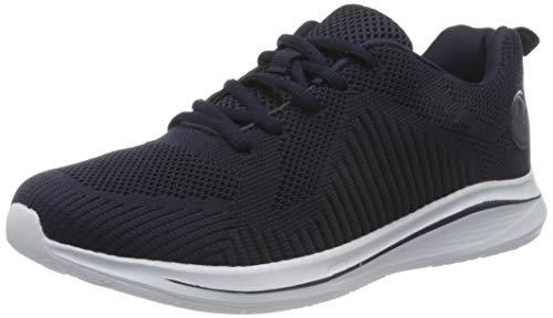 Rieker Damen Frühjahr/Sommer N9820 Sneaker, Blau (Pazifik 14), 36 EU