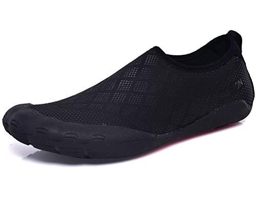SINOES Zapatos de Agua Escarpines Mujer Hombre Antideslizante Secado Rápido Descalzo Natacion Zapatillas para Buceo Snorkel Surf Piscina Playa