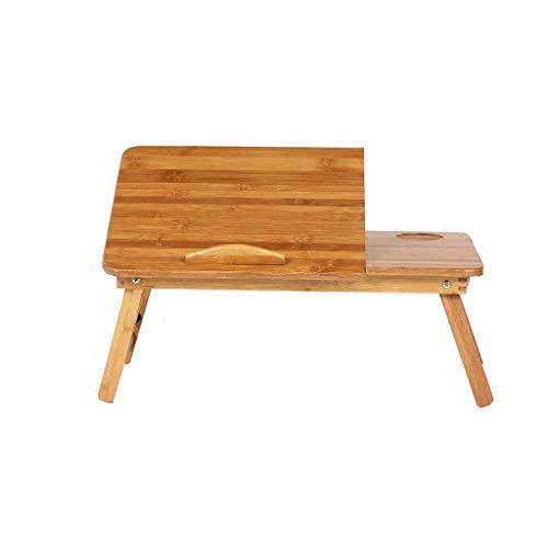 GZQDX - Scrivania semplice in legno massiccio per computer, scrivania per computer portatile, pieghevole, tavolino da studio