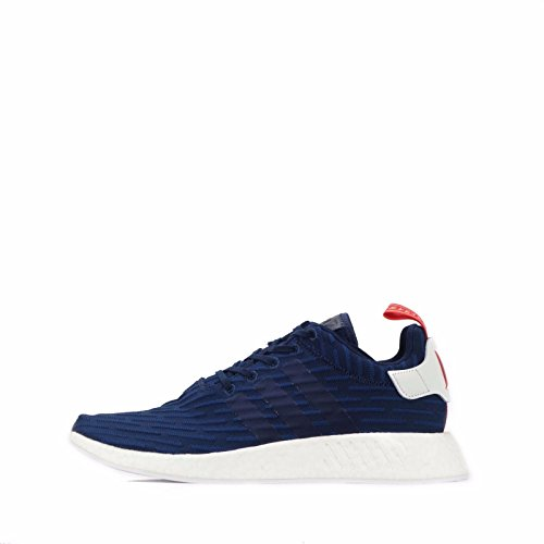 Mens Adidas Originals NMD_R2 PK Trainers in Navy.