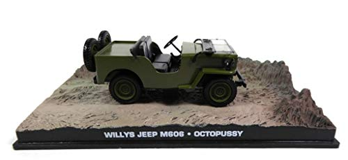 James Bond Jeep Willys M606 1953 007 Octopussy 1/43 (DY046)