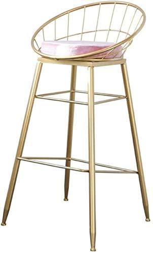 ZfgG barstoelen, stoelen van smeedijzer, vrijetijdsstoel, barkruk, Nordic stoel, draad, eetstoel, modern en minimalistisch