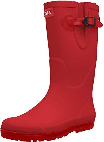 Aigle Woodypop, Unisex-Kinder Gummistiefel, Rot (Cerise), 31 EU