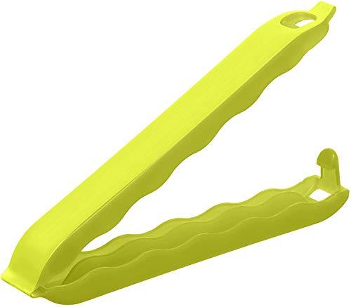 Rotho Onda 10er Set  Verschlussclips für Beutel, Kunststoff (BPA-frei), grün, (10 x 1,4 x 1,5 cm)