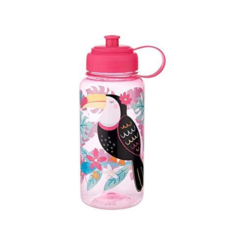 Sass & Belle Tiki Toucan Water Bottle 1 Litre