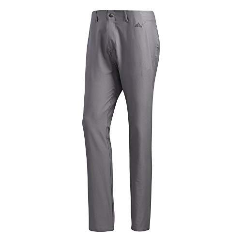adidas Golf Ultimate 3-stripe Tapered Pant, Grey Three, 3330